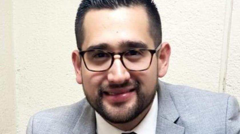 Gerardo Ignacio Cota Blake es licenciado en Derecho por el Centro de Estudios Universitarios Xochicalco(Cortesía)