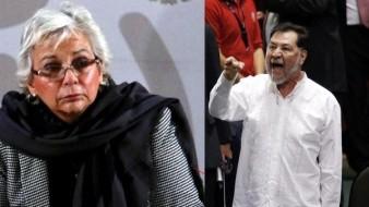 Noroña acusa a Sánchez Cordero de