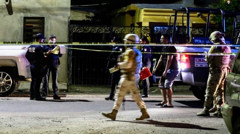 Por disparos de arma de fuego pierde la vida un hombre en colonia Pimentel(GH)