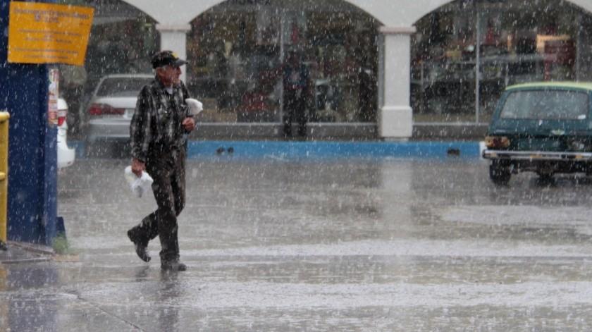 En cinco Estados del País se prevén lluvias a causa de la tormenta tropical Nana.(El Imparcial)