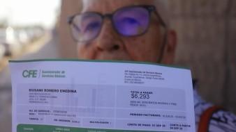 Bloquean manifestantes instalaciones de CFE en Hermosillo; denuncian tarifa alta