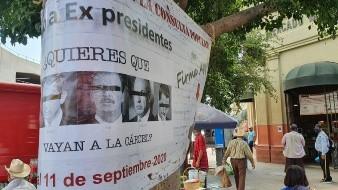 Realizan consulta popular en Hermosillo para enjuiciar a ex presidentes