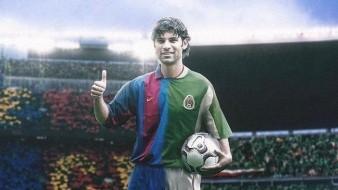 Rafael Márquez jugó en la mejor etapa del Barcelona.