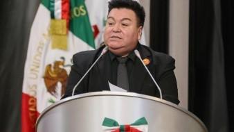Diputado Rodolfo Lizárraga, del Partido del Trabajo.