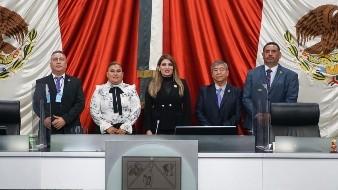 Diputados locales del Grupo Parlamentario de Encuentro Social.