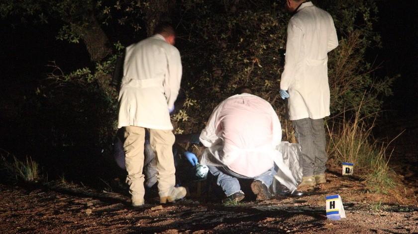 (Foto ilustrativa) Los cuerpos de tres personas fueron localizados en el tramo carretero que conduce de Altar a Sonoyta.(El Imparcial)