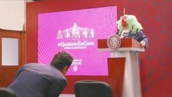 En conferencia de prensa en Palacio Nacional, el presidente López Obrador pidió no preocuparse porque su administración nunca caerá en la censura.
