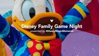 Se invita a los fanáticos a que compartan su experiencia con el hashtag #DisneyMagicMoments para tener la oportunidad de aparecer en una futura noche de juegos familiares de Disney.