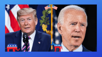 Biden no sólo supera a Trump en intención de voto, sino que su candidatura está generando más entusiasmo: de 28% en marzo a 48% actualmente, aunque el entusiasmo que despierta el presidente aún es mayor: 65%.