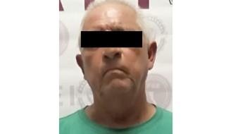 El detenido está identificado como Miguel Rómulo N.
