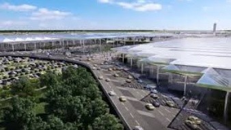 Este es el proyecto del aeropuerto de Santas Lucía