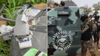 CJNG ataca con drones cargados de explosivos a sus rivales