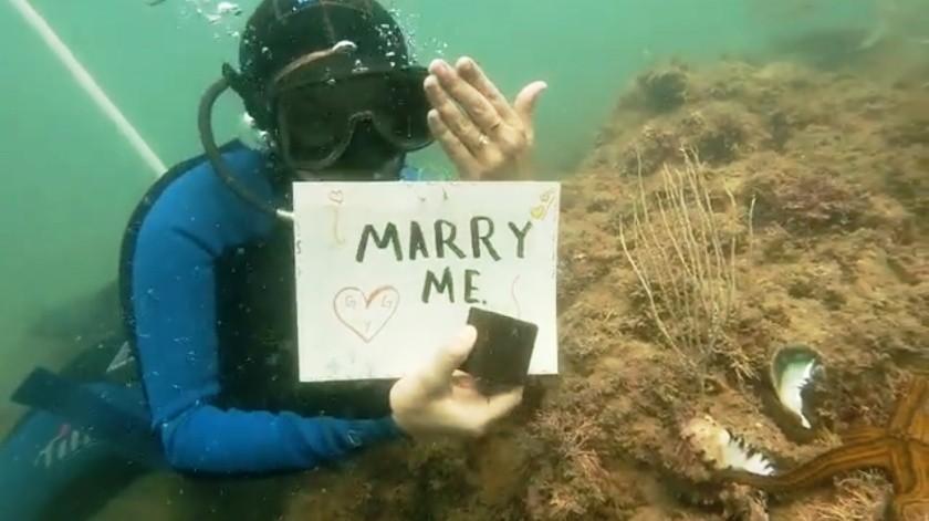 Graciela esperaba el anillo de compromiso pero no imaginaba la sorpresa que su novio le tenía preparada(Especial)