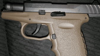 Aseguran pistola 9 mm. en SLRC