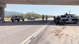 Operaciones contra los ladrones donde participan policías municipales, estatales y del Ejército.