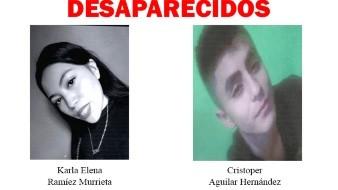 Los afectados fueron identificados como Cristoper Aguilar Hernández y Karla Elena Ramírez Murrieta, según el boletín oficial publicado el 7 de septiembre.