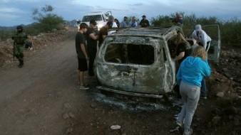 Varios miembros de la familia LeBarón fueron asesinados a balazos y después quemados
