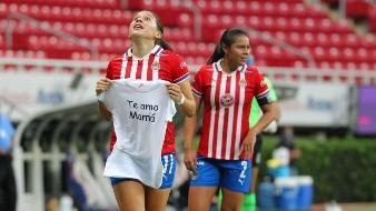 Norma Palafox dedicó el gol a su madre.