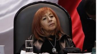 Senadores piden explicaciones de Rosario Piedra sobre situación de CNDH