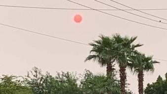 Humo de incendio en California provocará Sol y Luna 'rojos' en Sonora, pronostican