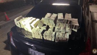 A lo largo de la investigación les confiscaron 90 kilos de cocaína y 1.3 millones de dólares en efectivo.