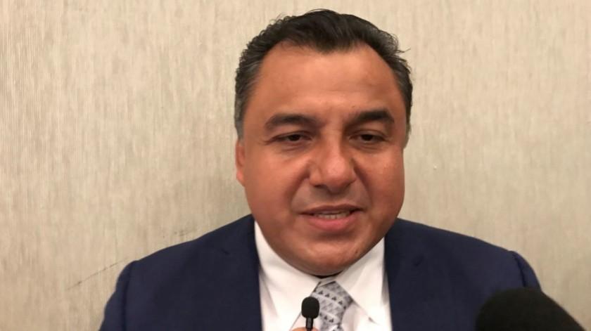 Jorge Menchaca Sinencio, Presidente de la Federación de Cámaras de Comercio de Baja California.(Jayme García)