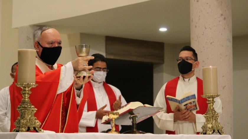 El arzobispo Ruy Rendón Leal presidió la celebración eucarística de inicio de ciclo(Especial)