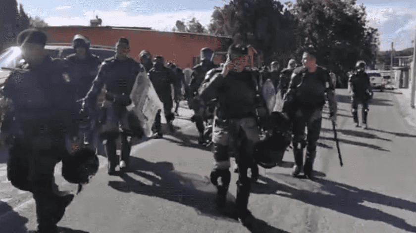 Campesinos desalojan a Guardia Nacional de presa en Chihuahua(El Universal)