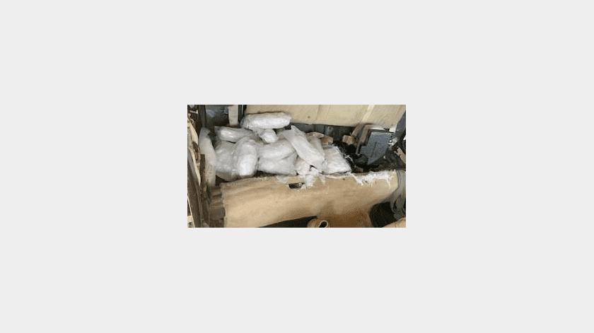 """""""Emigrado"""" es detenido con metanfetamina en Yuma(Cortesía)"""