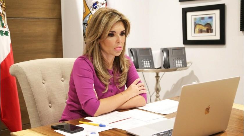 """""""Estoy muy extrañada que en el Proyecto de Presupuesto de Egresos de la Federación aparezca una sola obra para Sonora"""": Gobernadora(GH)"""