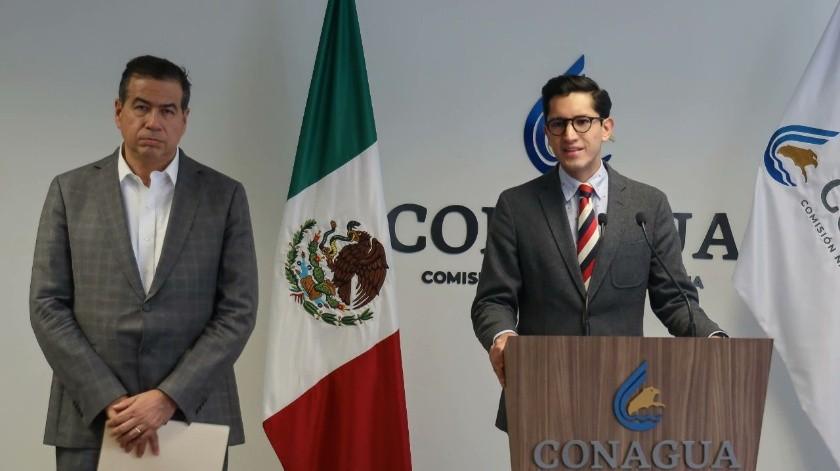 No se está entregando agua de México a EU: SRE sobre toma de presa La Boquilla en Chihuahua(Twitter @SRE_mx)