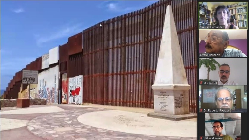 """El escudo oficial de Tijuana lleva inscrito el lema """"Aquí empieza la Patria"""" y esta imagen lo representa de modo ejemplar.(Cortesía)"""