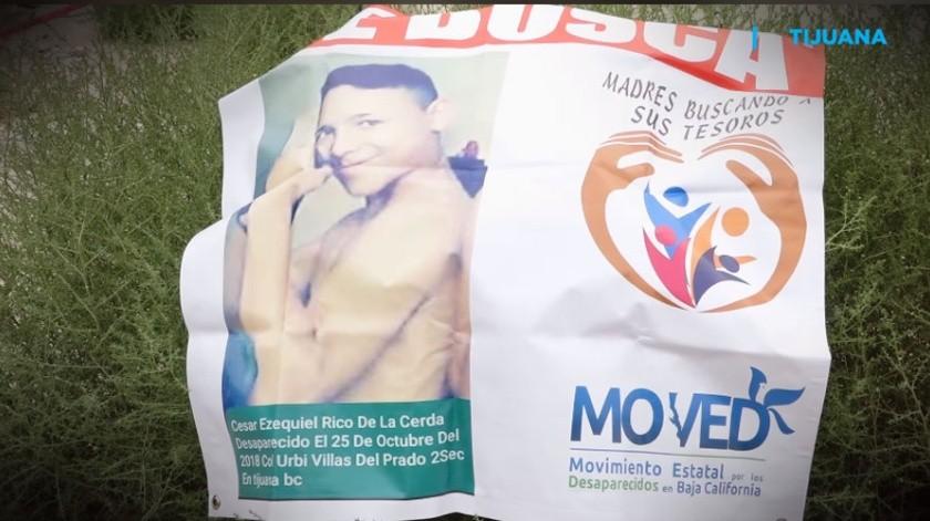 César Ezequiel Rico Cerda fue asesinado cuando tenía 17 años.(Imagen tomada de video)