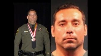 El oficial Hortz es señalado de sustraer del predio dos cajas fuertes, ventiladores de techo, un estuche de rifle y otros artículos que faltan por determinar.
