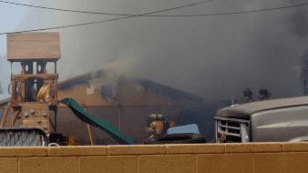 Arde una casa en Yuma