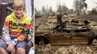 Incendio en Oregon: Hallan a niño y perro muertos, acurrucados entre sí