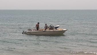Se hunde vehículo acuático y deja a la deriva a 4 personas en el mar en Bahía de Kino