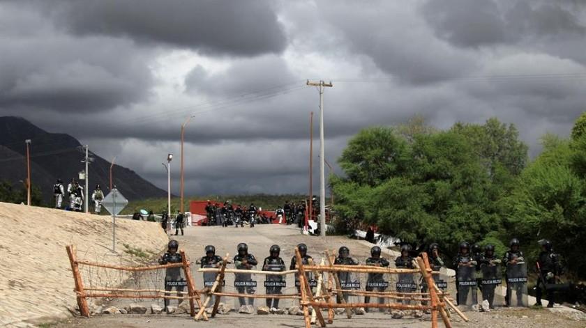 Gobernación y alcaldes acuerdan vigilar tratado de aguas México-EU en Chihuahua(EFE)