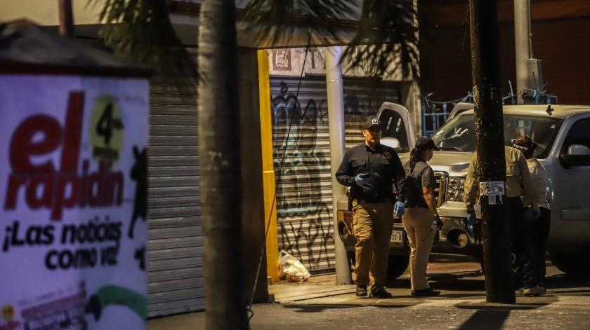Un hombre muerto y una mujer lesionada tras ataque armado en Zona Centro(Gustavo Suárez)