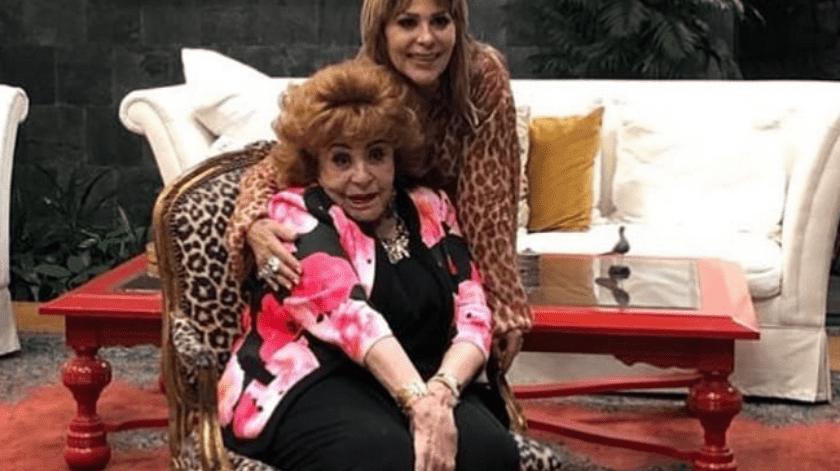 Silvia Pinal cumplió 90 años el sábado pasado.(Instagram.)