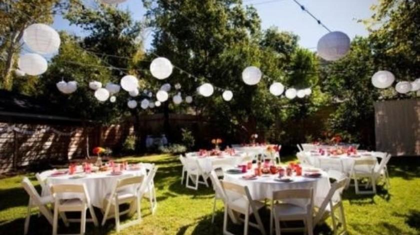 Dan autorización para abrir los jardines de fiestas(Tomada de la red)