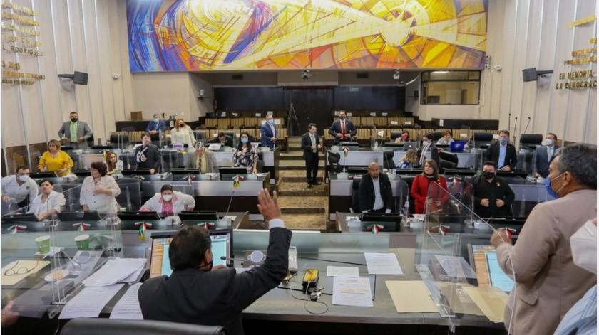Diputados votan en contra de juicio político contra alcaldes de Cajeme y Navojoa(Twitter @CongresoSon)