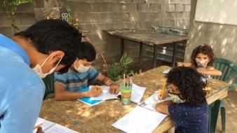 En casa de Lupita Landavazo se instalarán cinco computadoras para que los estudiantes de la invasión Guayacán puedan hacer sus tareas