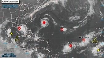 Huracán Sally se acerca al sureste de EU y Paulette se aleja de las Bermudas