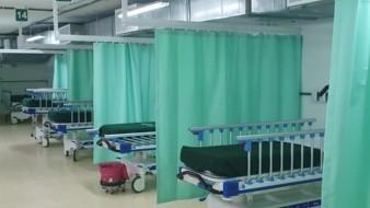 La zona Covid del IMSS ha visto reducir de manera considerable el número de hospitalizados.