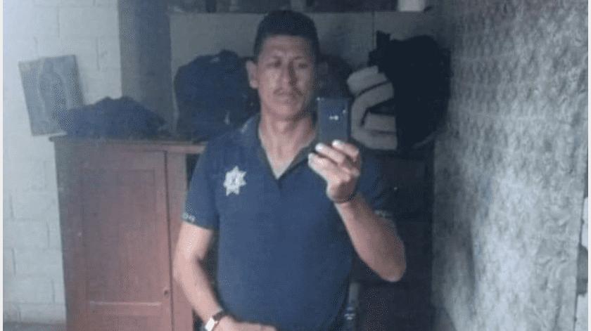 El oficial atacado y quien falleciera en el lugar, fue identificado como José Carlos Y. O., Jefe de Policía del poblado de Vícam desde hace un par de meses.(Especial)