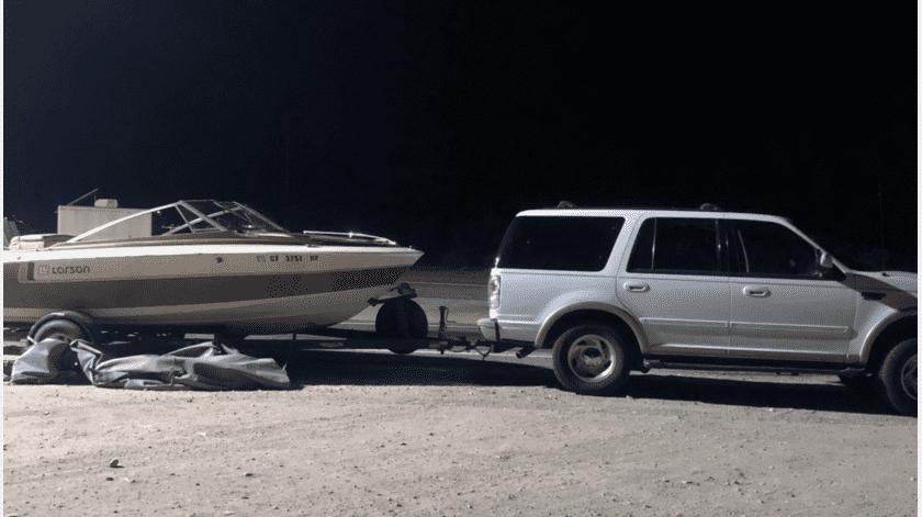 Traían a migrantes ocultos en un bote, en Yuma(Cortesía)