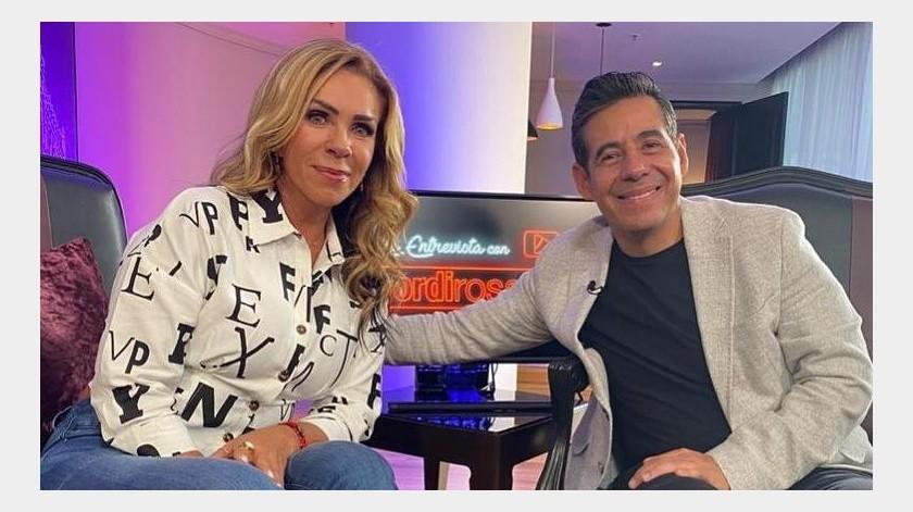 Rocío Sánchez Azuara relató ese difícil episodio de su vida en una entrevista a Yordi Rosado.(Tomada de la red)