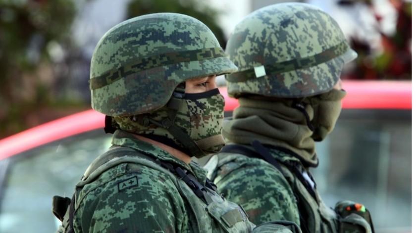 Los grupos de fuerzas federales y estatales recorrieron en varias ocasiones el sector Norte de Culiacán(El Imparcial)