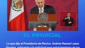 Se quedan cortos en recolección de firmas solicitando consulta sobre enjuiciamiento a ex presidentes: Medios